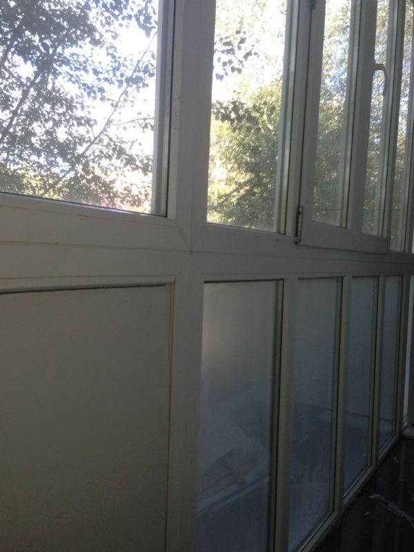 Остекление балкона от пола до потолка - фото работы мираклим.