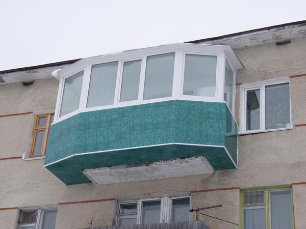 Выносной балкон - балкон с выносом